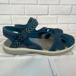 Keen Sage Ankle water Sandals strap Velcro hiking